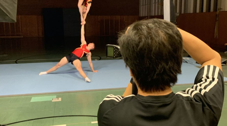 Fotoshooting: Bundeskader Sportakrobatik